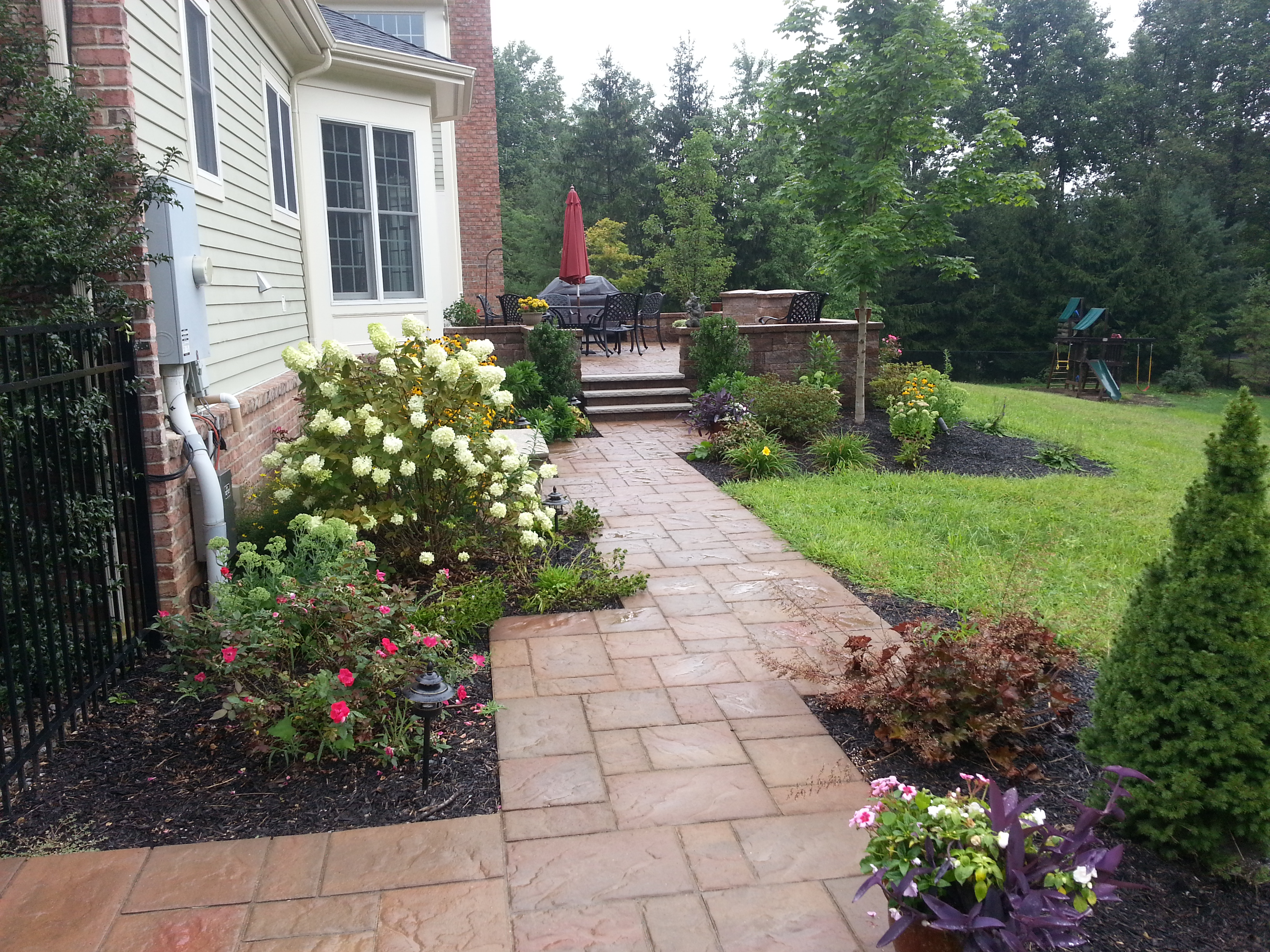 New jersey landscaper lawn maintenance morris county new for Landscape construction services